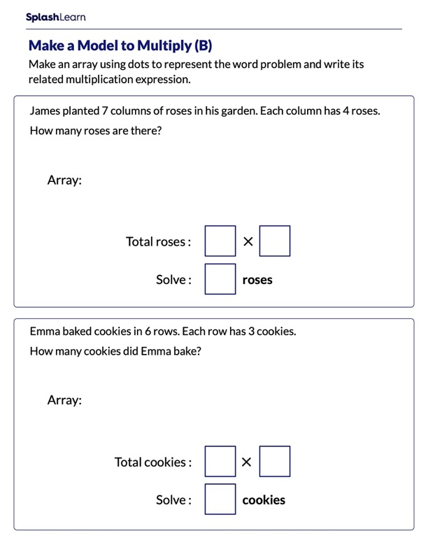 Multiply by Making a Model