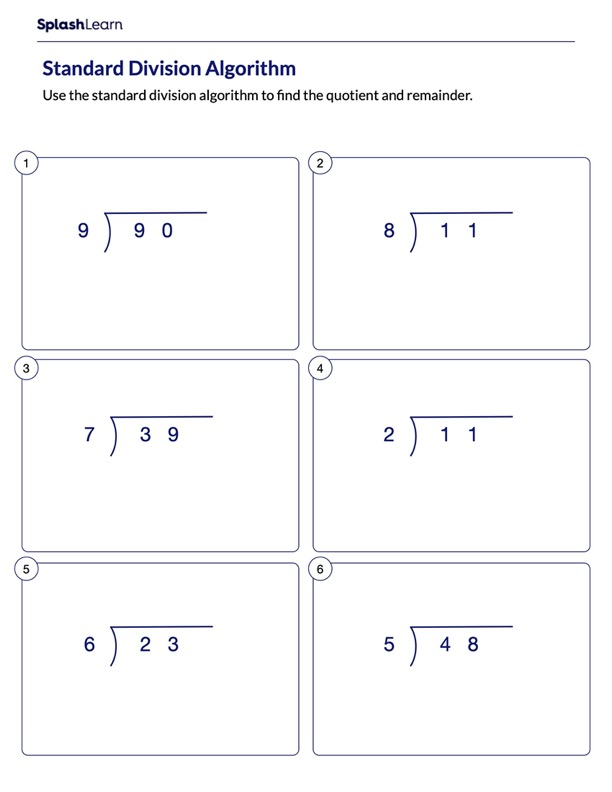 Divide and Find the Quotient and the Remainder