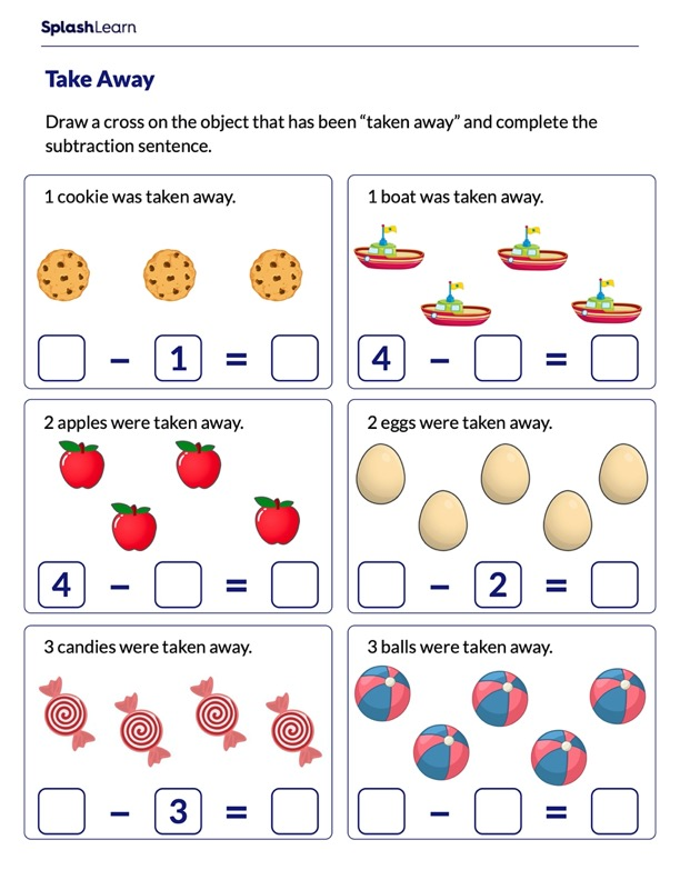 Subtraction Problems on