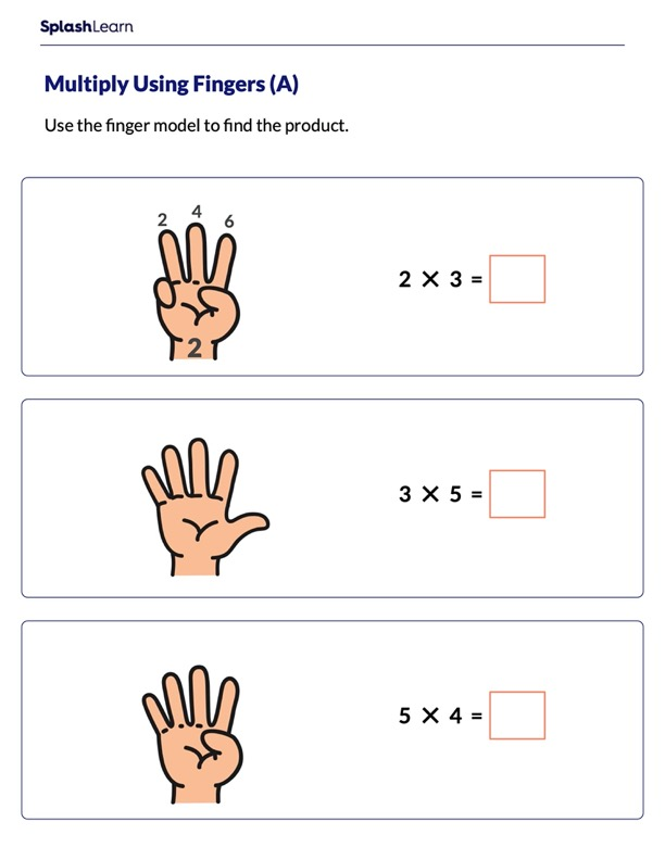 Use Fingers to Multiply