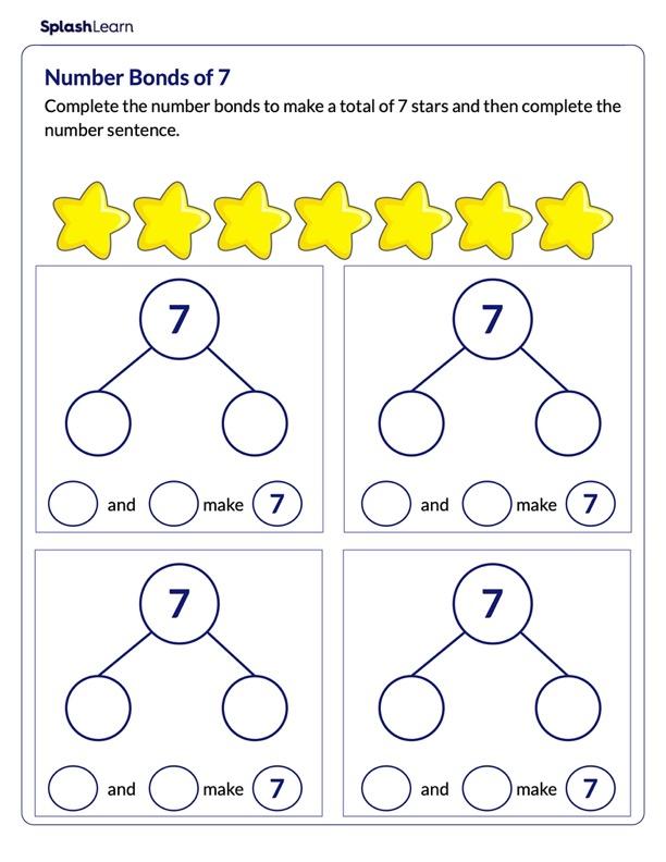 Make Number Bonds of 7