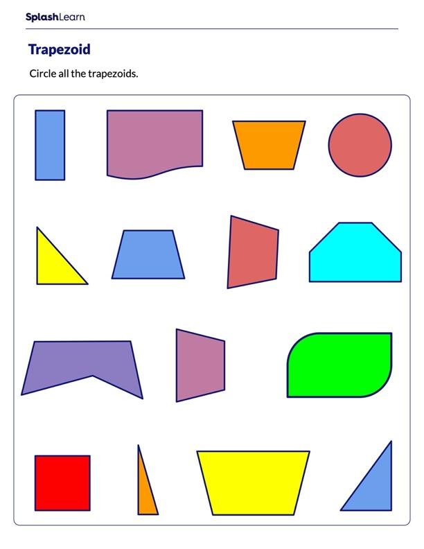 Identify Trapezoids