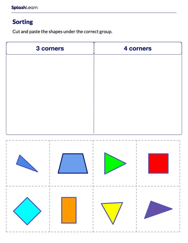 Sort on the Basis of Number of Corners