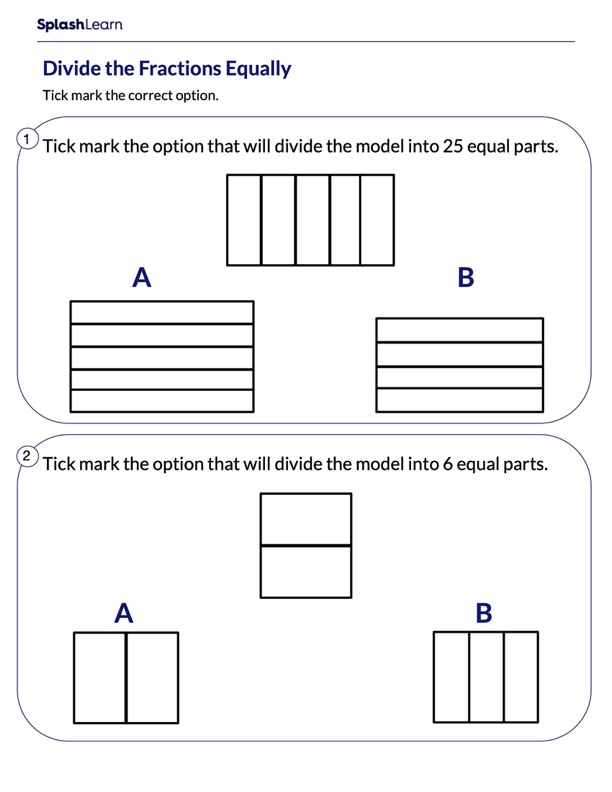 Partition the Model Into Equal Parts