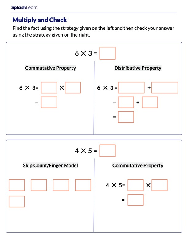Multiply & Check Using Strategies