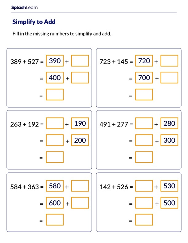 Add by Making Multiples of 100