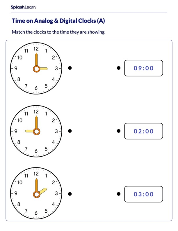 Time on the Analog Clock