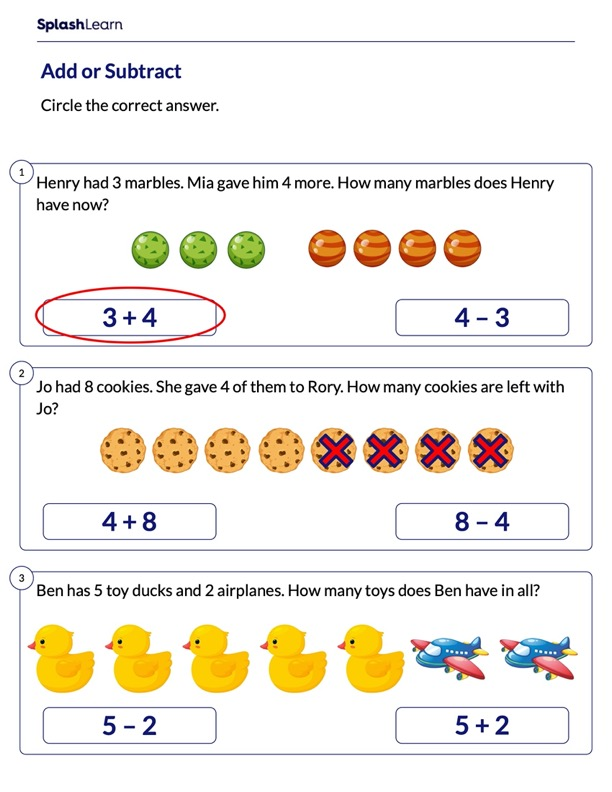 Represent Word Problems as Math Expressions