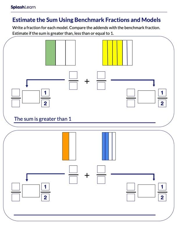 Estimate the Sum Using Models