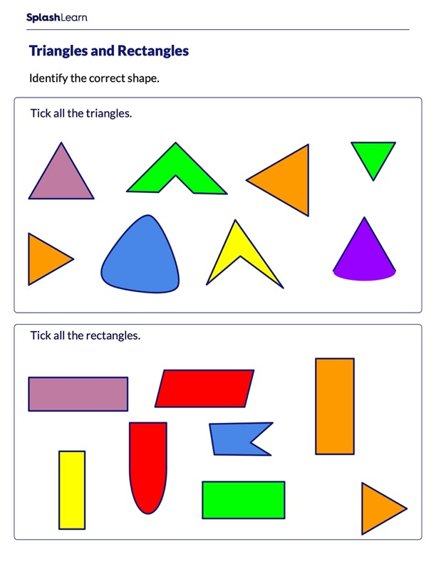 Rectangles and Triangles