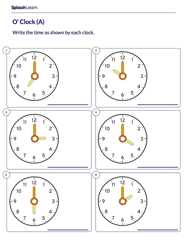 Read Time on Analog Clock