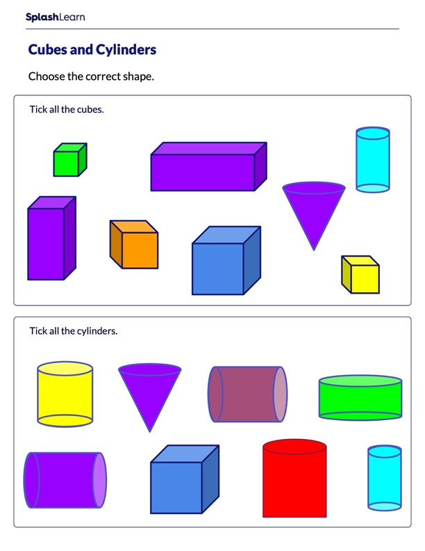 Cylinders and Cubes