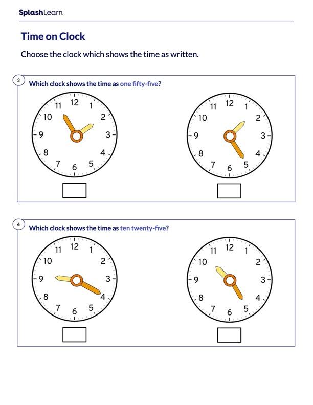 Guess the Correct Analog Clock
