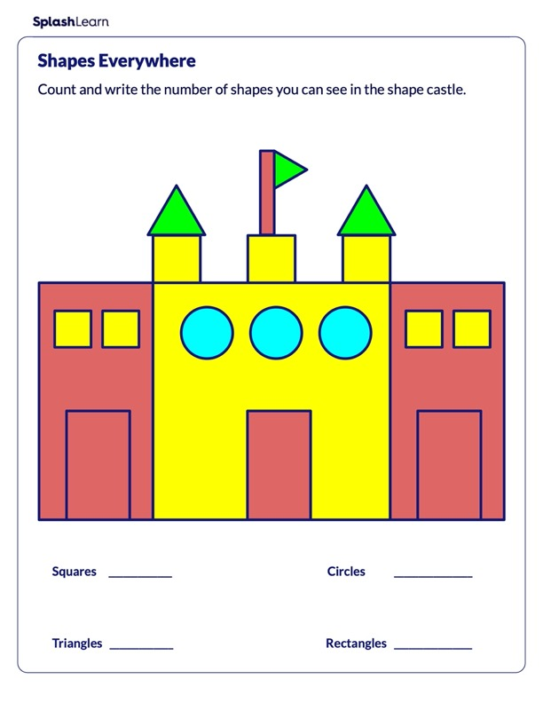 Identify and Count the Shapes