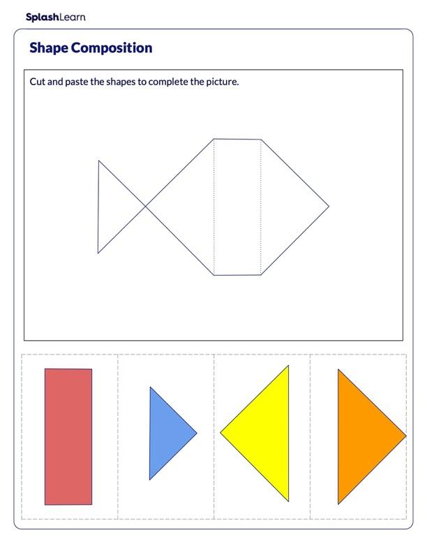 Make a Fish using Shapes