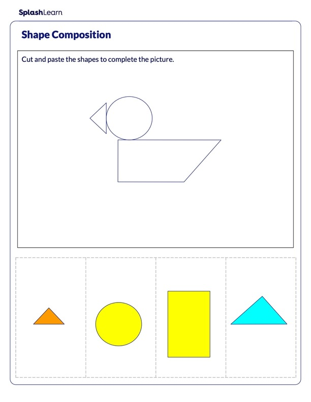 Make a Duck using Shapes