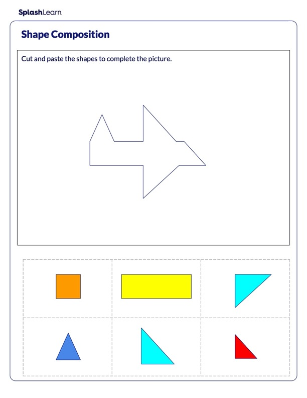 Make an Airplane using Shapes
