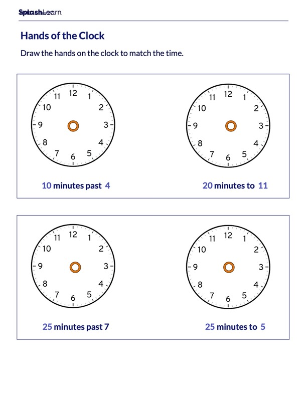 Set time on the Clock