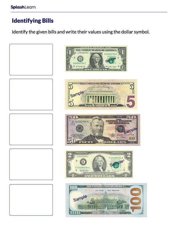 Identify the Bills