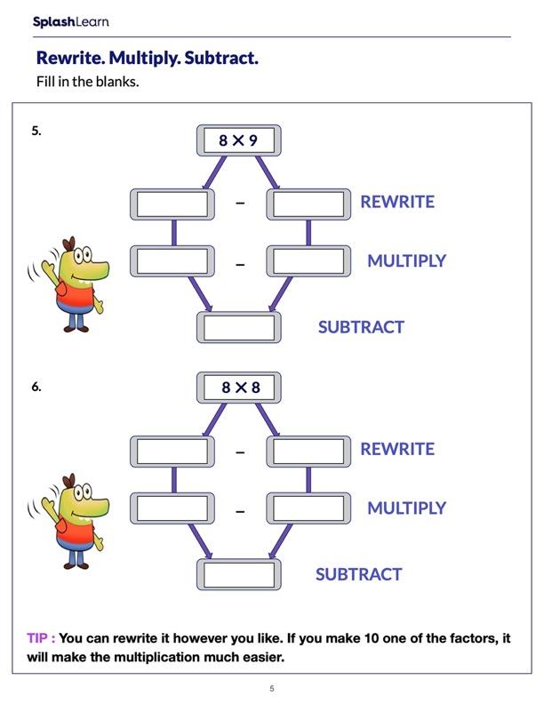 Rewrite Multiply Subtract