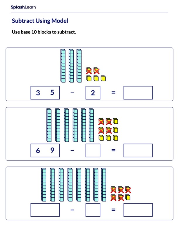Use Model to Subtract Ones