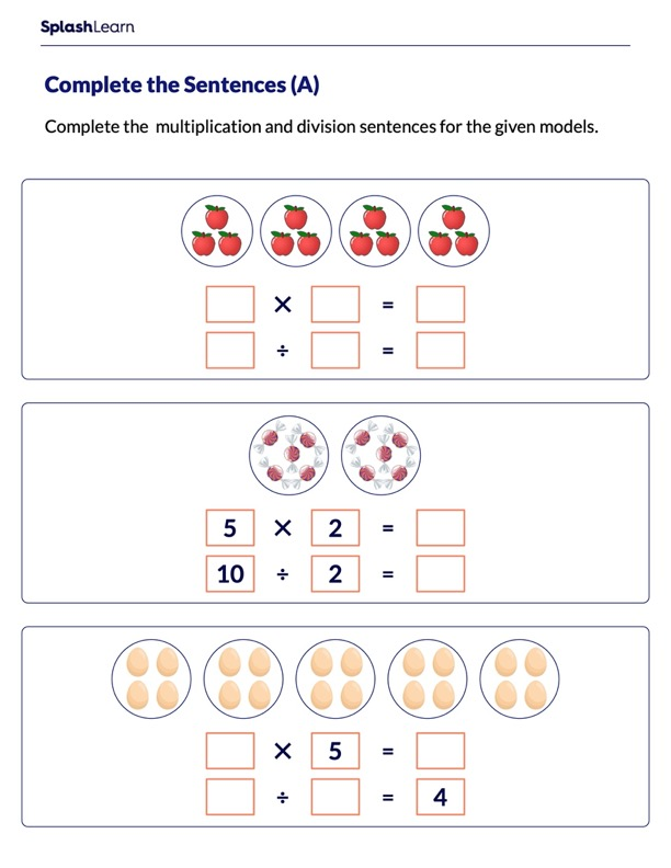 Multiplication and Division Sentences