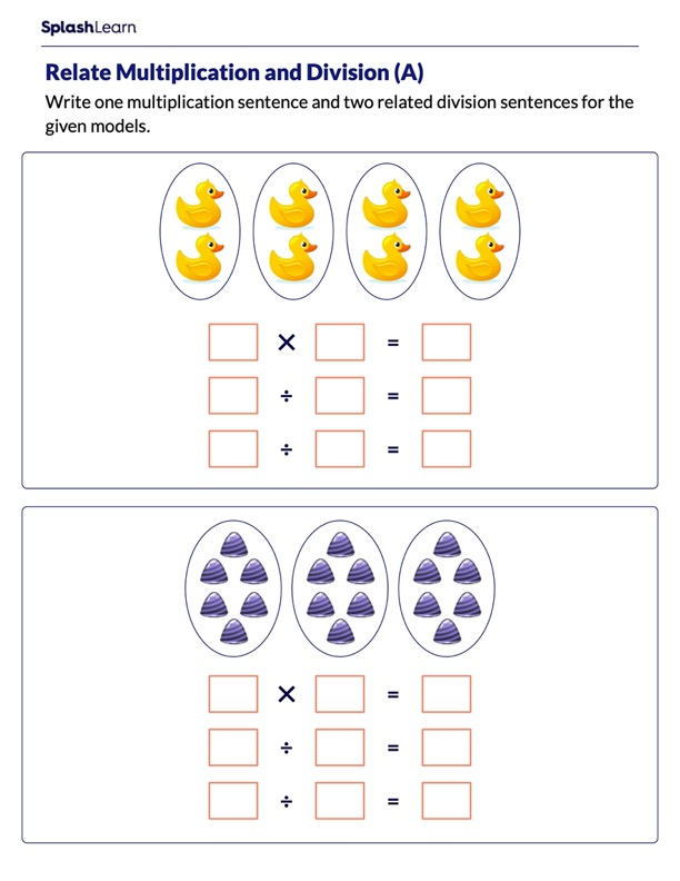 Relate Multiplication and Division for Groups