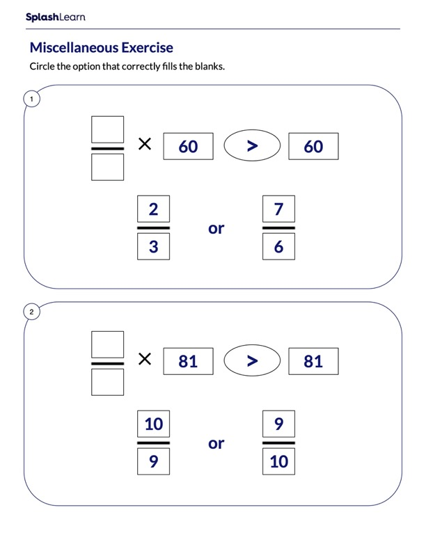 Multiplication as Scaling using Fractions