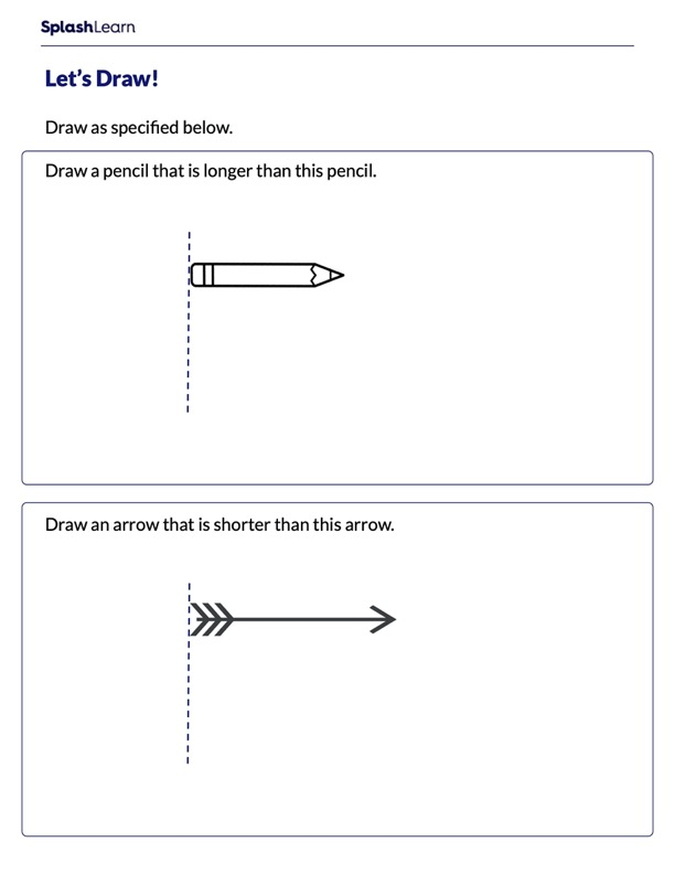 Draw Longer and Shorter Objects