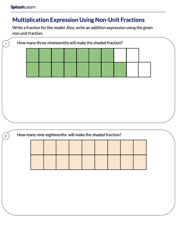 Express a Fraction as Repeated Sum