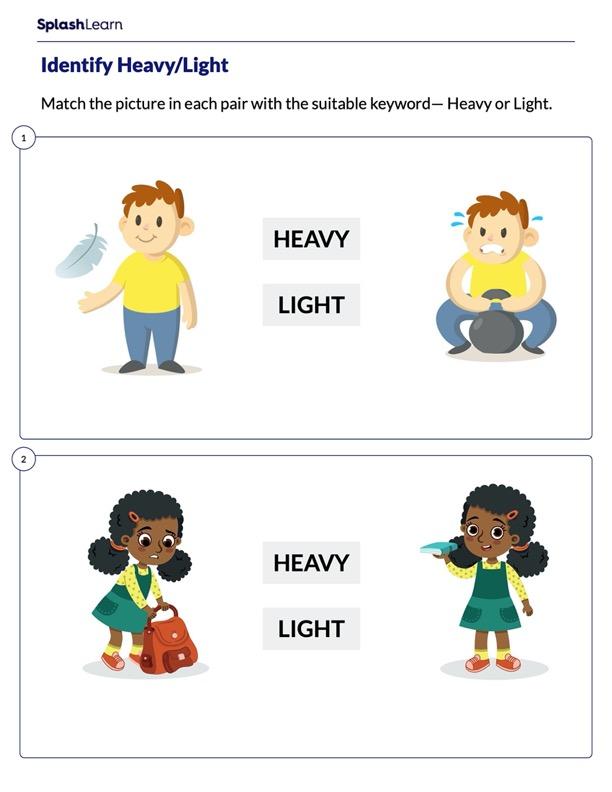 Identify Heavy or Light