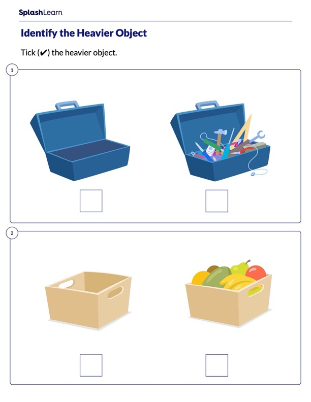 Which Object is Heavier
