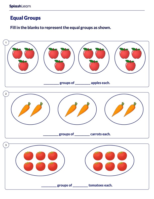 Describing Equal Groups