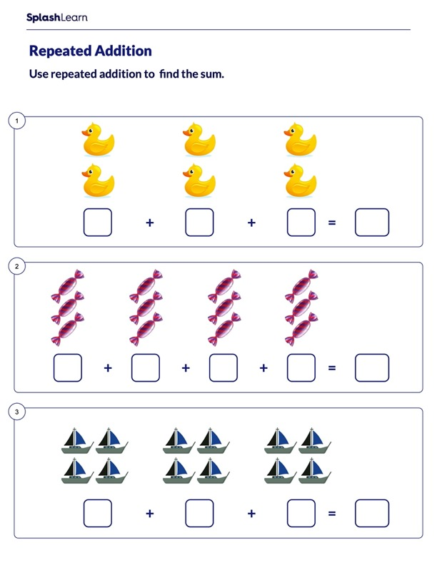 Solve Using Repeated Addition