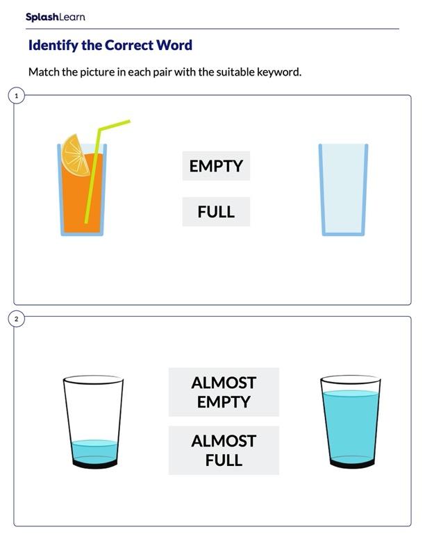 Empty or Full Worksheet