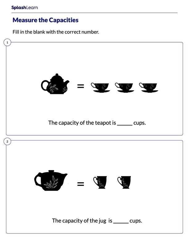 Measure Capacity of Objects