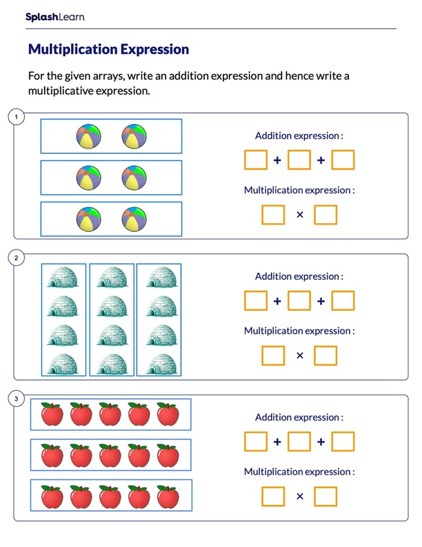 Addition and Multiplication Expressions