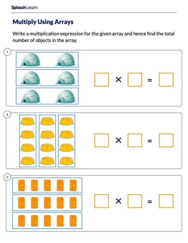 Multiplying Using Arrays