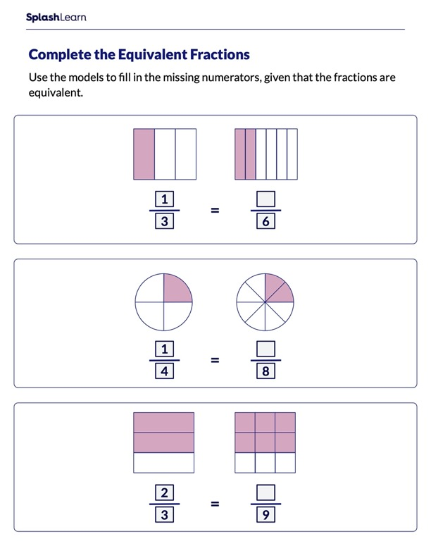Make the Fractions Equivalent
