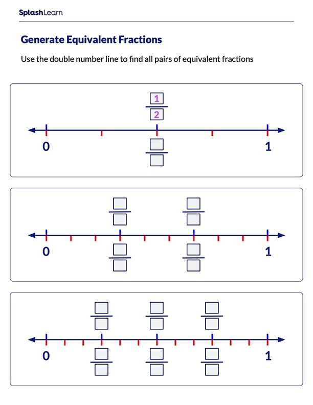 Find Pairs of Equivalent Fractions