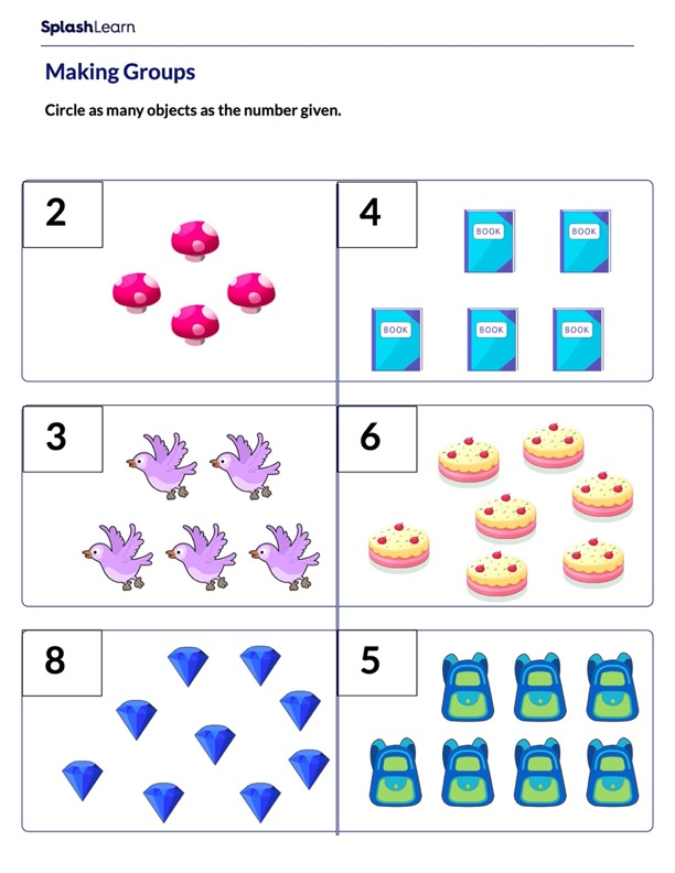 Making Groups of Objects