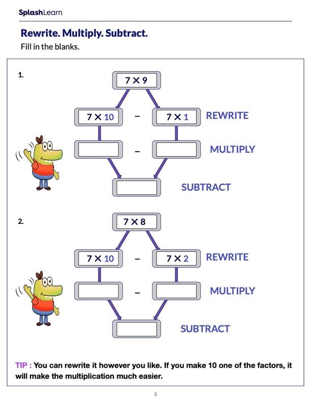 Break Multiply Subtract