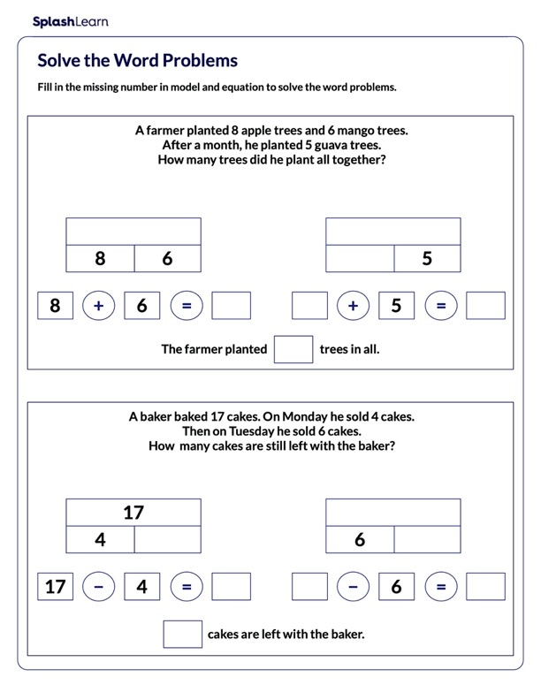 Solve Two-Step Word Problems on Same Operation